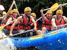Ingresso para Rafting com transporte no Brasil Raft Park