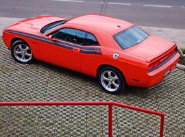 Ingresso para o Test Drive no Dodge Challenger
