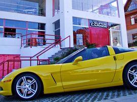 Ingresso para o Test Drive Corvette C6