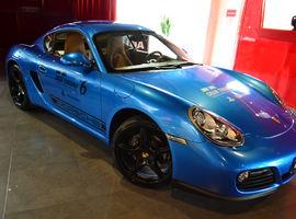 Ingresso para o Test Drive no Porsche Cayman