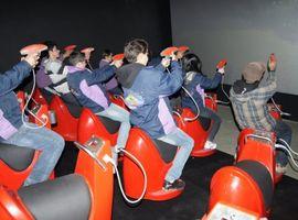 Ingresso do Alpen Interactive (Cinema 5D) no Alpen Park