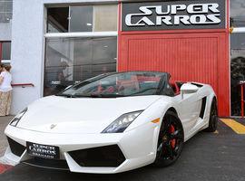 Ingresso para o Test Drive na Lamborghini Gallardo Spyder