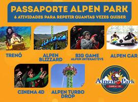 Passaporte Alpen Park - 06 Atividades