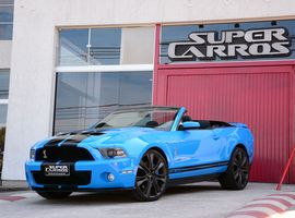 Ingresso do Test Drive no Mustang Shelby GT 500