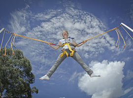 Ingresso para o Super Salto no Alpen Park