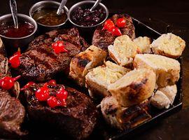 Parrilla Baita Steaks / Para 02 Pessoas.