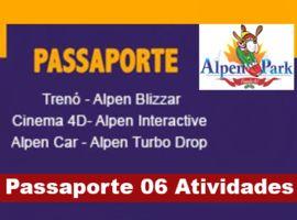 Passaporte Alpen Park / 06 Atividades