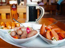 Jantar Típico Alemão no Rasen Platz com Open Bar de Chopp