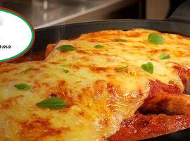 Bife à Parmegiana para 02 pessoas Rest. Piato de Parma