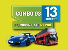 Gramado Pass - Combo 3 - 13 Atrações incluindo Drive Porsche