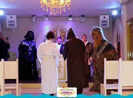 Casamento dos Sonhos no Estilo Star Wars em Gramado - RS