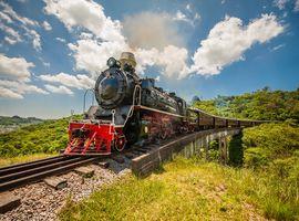Trem Maria Fumaça com Transporte e Almoço