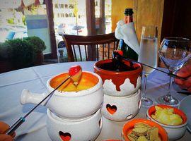 Restaurante La Gruyere Fondue com transporte