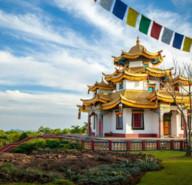 Templo budista e compras %288%29